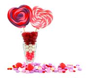 Valentines Day sweets Royalty Free Stock Photos
