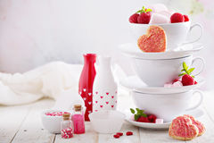 Valentines day sweets concept Royalty Free Stock Photography