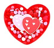 Valentines Day sweets Royalty Free Stock Photo