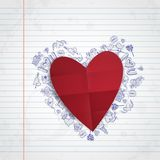 Valentines Day Symbol's. Royalty Free Stock Image