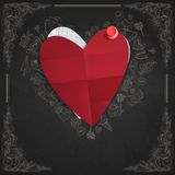 Valentines Day Symbol's. Stock Images
