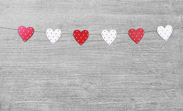 Valentines Day symbols Royalty Free Stock Photos