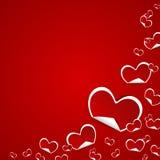Valentines Day Symbols Hearts Background Royalty Free Stock Image