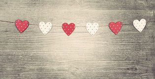 Valentines Day  symbols Royalty Free Stock Images