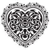 Valentines Day tatto heart Royalty Free Stock Photos