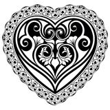 Valentines Day tatto heart Royalty Free Stock Photography