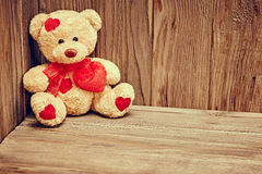 Valentines Day. Love, Teddy Bear Loving. Alone Stock Images