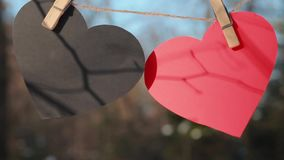 Valentines day, Valentine`s day,Love stock video footage