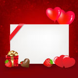 Valentines Day. Vector Royalty Free Stock Photography