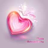 Valentines day vector background Stock Photography