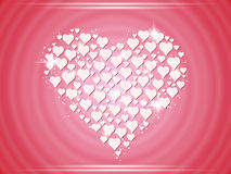Valentines day vector background Stock Photos