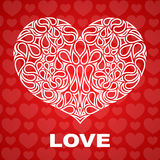 Valentines day vector background Royalty Free Stock Photos