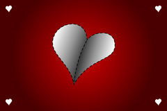 Valentines day vector card Stock Images