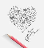 Valentines day vector Royalty Free Stock Photo