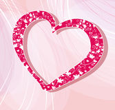Valentines day vector illustration Royalty Free Stock Images
