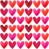 Valentines Day vector seamless pattern Royalty Free Stock Photo