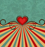 Valentines Day vintage background Stock Photo
