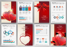 Valentines day vintage backgrounds Royalty Free Stock Image