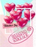 Valentines day Sale Stock Photos