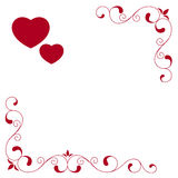 Valentines days card Royalty Free Stock Images