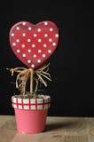 valentines de centrale d'amour de jour Images libres de droits