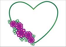 Valentines de coeur Photos stock