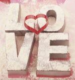 Valentines de cuisine Photos libres de droits