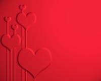valentines de jour de fond Illustration de Vecteur