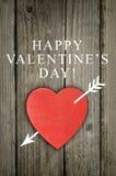 valentines de rouge de coeur de jour Photos stock