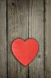 valentines de rouge de coeur de jour Image stock