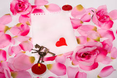 Valentines decoration Royalty Free Stock Photos