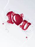 Valentines Design Stock Photo