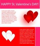 Valentines design Stock Image