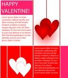 Valentines design Stock Photography