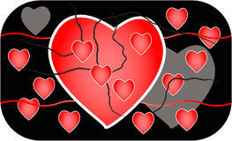 Valentines design Royalty Free Stock Photography
