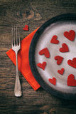 Valentines dinner Royalty Free Stock Image