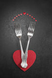 Valentines dinner Royalty Free Stock Photos