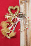 Valentines dinner Royalty Free Stock Photo