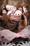 Valentine´s dnia ciastka Zdjęcia Royalty Free