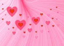 Valentines fantasy Royalty Free Stock Photos