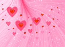 Valentines fine background royalty free stock photography