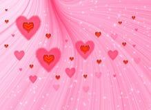 Valentines fine background. Valentines fantasy background for design artwork Royalty Free Stock Photography