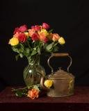 Valentines flowers Stock Image
