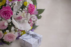 Valentines, fond de carte d'anniversaire Image libre de droits