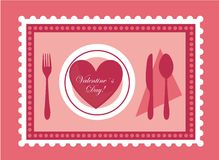 Valentines food Royalty Free Stock Images