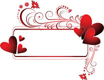 Valentines frame Royalty Free Stock Photo