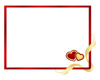 Valentines frame background. Royalty Free Stock Photo