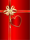 Valentines gift Royalty Free Stock Photos