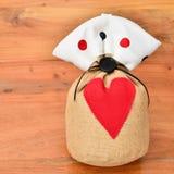 Valentines gift surprise Stock Photos
