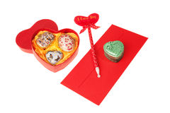 Valentines gifts Stock Photos